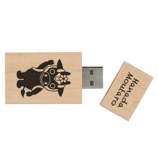 フラッシュメモリ d'USB de メープル de ・ de ハードウッド (éclair de Clé USB 2.0 En Bois
