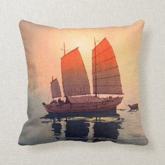 帆船朝, het Varen de Ochtend van Boten, Hiroshi Sierkussen
