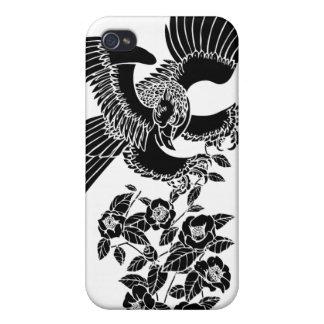 鷹椿 de faucon et de camélia coque iPhone 4/4S