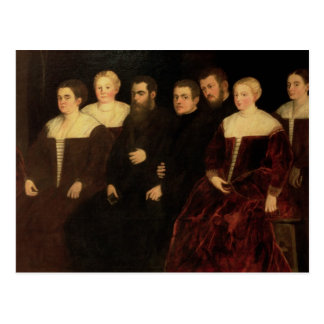 00409 sept membres de la famille de Soranzo Carte Postale