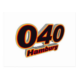 040 Hambourg Carte Postale