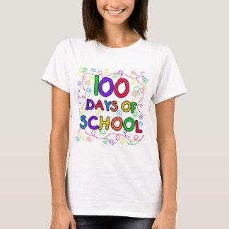 100 jours de T-shirts et de cadeaux de confettis