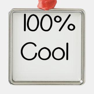 100 pour cent Cool.png Ornement Carré Argenté
