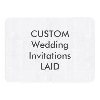 """100lb ÉTENDU 6,25"""" x 4,5"""" invitations de mariage"""
