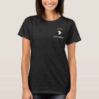 101st Pièce en t de dames de Division Aéroportée T-shirt