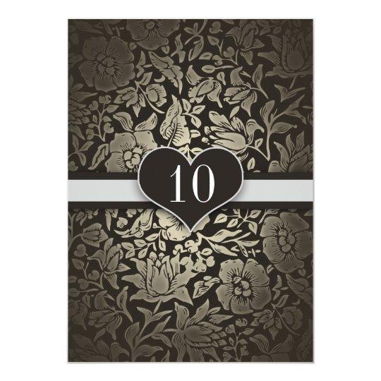 10 ans de mariage d 39 anniversaire d 39 invitations de carton d 39 invitation 12 7 cm x 17 78 cm zazzle. Black Bedroom Furniture Sets. Home Design Ideas