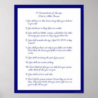 10 commandements de mariage
