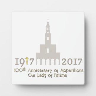 10de Jubileum van Verschijningen - Fatima Portugal Fotoplaat