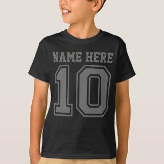 10ème Anniversaire (le nom de l'enfant T-shirt