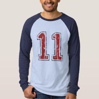 #11 de t-shirt van de sport