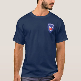 11ème Aéroporté + 511th DUI/Para s'envole le T-shirt