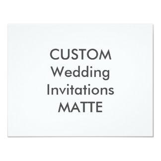 """120lb MAT 5,5"""" x 4,25"""" invitations de mariage"""