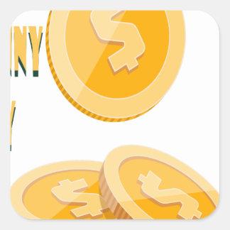 12 février - jour perdu de penny - jour sticker carré