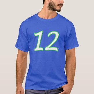 12ème T-shirt du Jersey d'homme