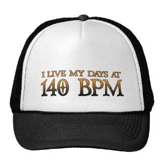 140 jours DUBSTEP de BPM Casquettes