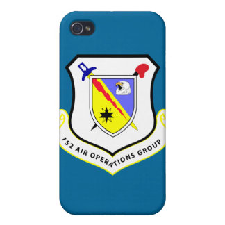 152nd Groupe d'opérations d'air Coque iPhone 4