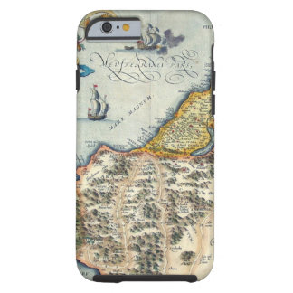 1570 Palestinae Hondius - Vintage Kaart Tough iPhone 6 Hoesje