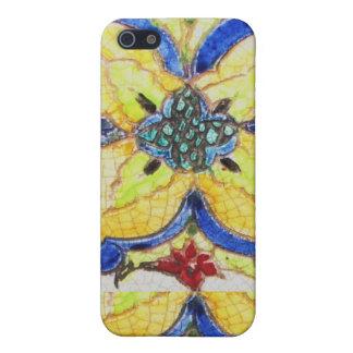1600s pern floraux arabes de tuile de motif iPhone 5 case