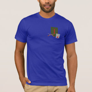 16ème Ęr T-shirt de division d'infanterie