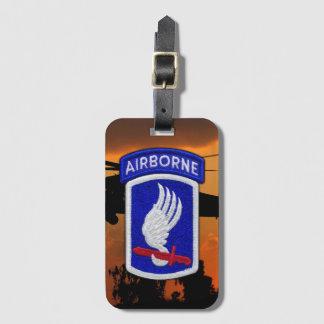 173rd Bagage de correction de Division Aéroportée Étiquette À Bagage