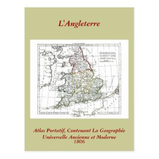 1806 carte - L'Angleterre Carte Postale