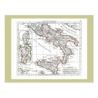 1806 carte - L'Italie (lessive) Cartes Postales