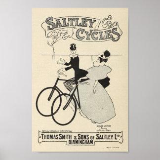 1898 bicyclettes vintages Saltley font un cycle