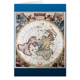 18' carte polaire de siècle de Th