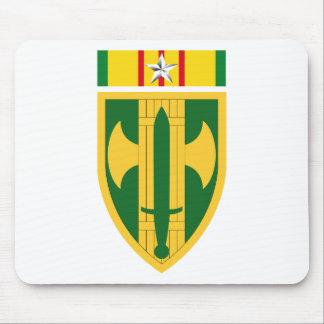 18ème Brigade Vietnam - étoile argentée de député Tapis De Souris