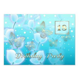 18ème Invitations de coutume de fête