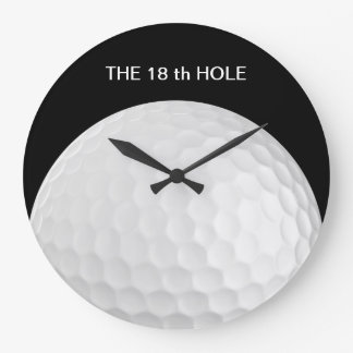 18èmes horloges murales drôles de golf de trou