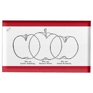 1903 variétés d'Apple dessin au trait Porte-photos