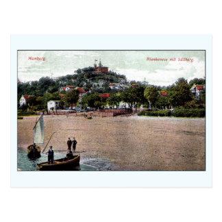 1907 Hambourg vintages Allemagne Blankenese, Carte Postale