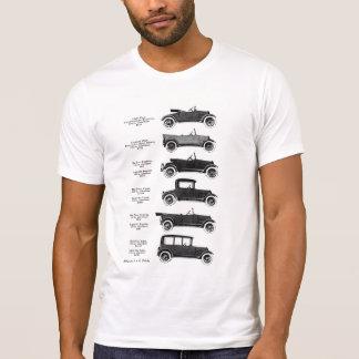 1917 voitures anciennes t-shirt
