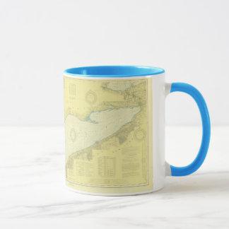 """1918 historiques le lac Érié nautique """"3"""" tasse de"""