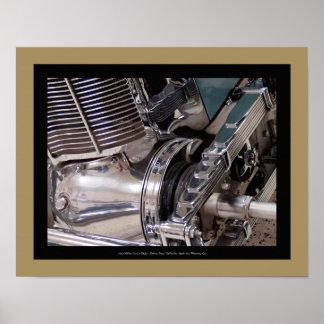 1925 automobile de Miller - détail