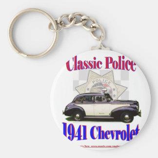 1941 polices classiques Chevrolet Porte-clé Rond