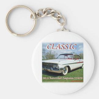 1961_Chevrolet_Impala Porte-clé Rond