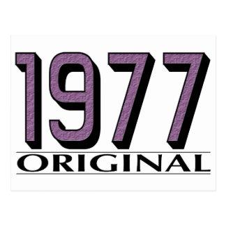 1977 Origineel Wenskaarten