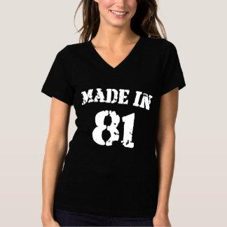 1981 Gemaakt in 81 T Shirt