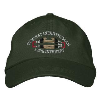 1-12ème FNI. Casquette d'insigne de soldat