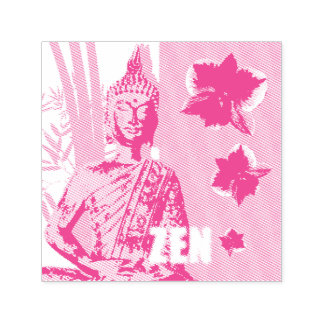 "1.5"" x 1.5"" Stamp ZEN Tampon Auto-encreur"