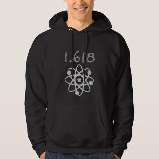 1.618 de Gouden Verhouding de Wiskunde van Hoodie