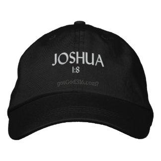 1:8 de JOSHUA gotGod316.com Casquette Brodée