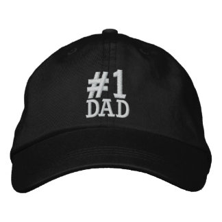 #1 casquette brodé par PAPA du numéro un