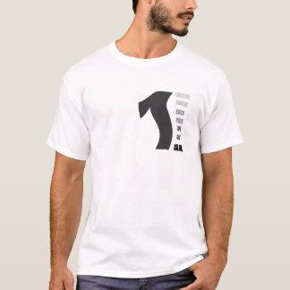1, créateur, foi, chemin, la vie, ummah, un dieu, t-shirt