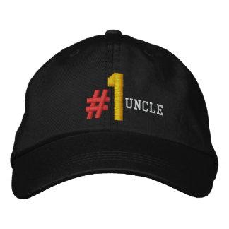 #1 ONCLE casquette NOIR V04 du numéro un
