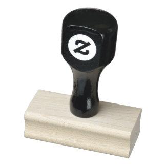 """1"""" x 2.5"""" de Houten Zegel van de Kunst Rubberstempel"""