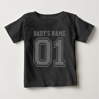 1st Verjaardag (de Naam van de Klantgerichte Baby) Baby T Shirts