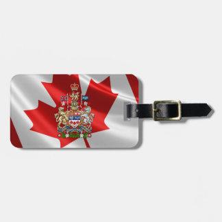 [200] [3D] Wapenschild van Canada Kofferlabel